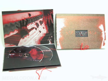 dvd digibook boxset packaging slipcase custom booklet